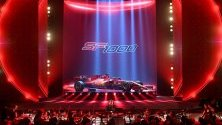 Представяне на новия болид на Ferrari за Формула 1 в Реджо Емилия, Италия.