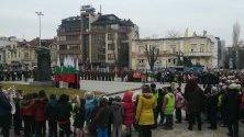 Плевенчани се събраха, за да се поклонят пред делото на Дякона.