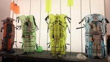 """Модели представят творенията на модна къща """"Moncler"""" по време на Седмицата на модата в Милано."""