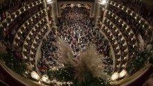 Кадри от 64-ия виенски бал в Държавната виенска опера.
