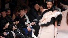 Ревю на Fendi по време на Седмицата на модата в Милано.