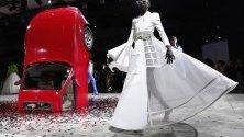 Ревю на Върджил Аблох за модна къща Off White по време на Седмицата на модата в Париж.