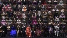 """Част от ревюто на Никола Гескер за """"Луи Вюитон"""" по време на Седмицата на модата в Париж."""