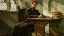 Петър Богдан Бакшев, картина на Васил Горанов